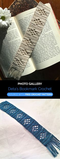 Crochet Motif Deta's Bookmark Crochet - Crochet Quilt, Crochet Cross, Crochet Home, Thread Crochet, Filet Crochet, Crochet Motif, Crochet Doilies, Crochet Patterns, Crochet Bags
