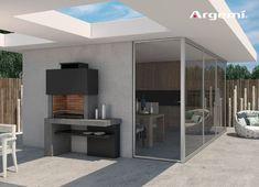 Barbacoa de obra Mónaco, diseño y funcionalidad | Ferrolan