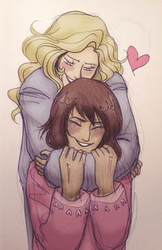 Piper and Annabeth