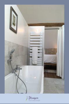 Sometimes a soak in big bathtub is the perfect cure for a dreary winter. The bath in Veraison La Grange- with soaking tub under a bright skylight and wood beams... delightful. Holiday Rentals France, Big Bathtub, Burgundy France, Spa Like Bathroom, Wood Beams, Skylight, Cottages, Cure, Bright