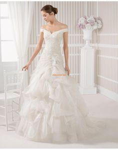 Church Sparkle & Shine Off-the-shoulder Best wedding dresses