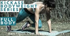 The last part of the Kickass Bodyweight series targets your entire body – no discrimination against any of your body parts here! Set your timers as follo