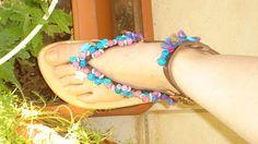 Χειροτεχνημα - Handmade: Σαγιοναρες - Sandals Flip Flops, Sandals, Shoes, Women, Fashion, Moda, Shoes Sandals, Zapatos, Shoes Outlet