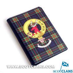 Colquhoun Clan Crest Passport Cover