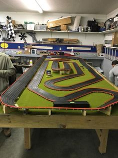Pin by ed c on ho slot car tracks. Ho Slot Cars, Slot Car Racing, Slot Car Tracks, Drones, Cars 1, Yellow Summer Squash, Drag, Homemade Black, Best Homemade Dog Food