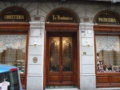 """""""LA BOMBONIERA"""" - la migliore e più antica pasticceria di Trieste (Italia)"""
