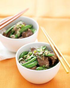 Beef Stir-Fry with Snap Peas - Martha Stewart Recipes