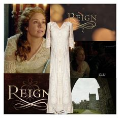 """""""Reign~Queen Catherine de Medici~3x07~The Hound and the Hare"""" by fashion10496 ❤ liked on Polyvore featuring Episode and Aquazzura"""