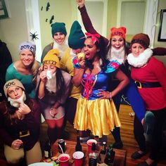 Snow white and the seven dwarfs Happy Halloween