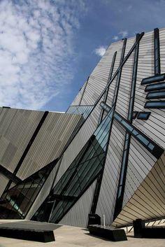 Toronto's Royal Ontario Museum Exteriors [Sky Watch Friday