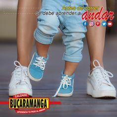 Antes de correr se debe aprender a andar. Diferencia tu paso al andar con Calzado Bucaramanga www.calzadobucaramanga.com #zapatos #Calzado #zapato #Tacones #Tenis #Zapatillas #Guayos #CalzadoEscolar #CalzadoColegial #ZapatosEscolares #ZapatosColegiales #Tacon #Baleta #Baletas #Botas #Bota