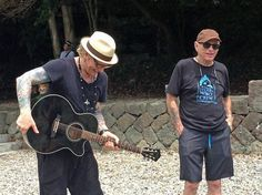 """Former Guns N' Roses drummer Matt Sorum was in a remote Japanese fishing village Monday to protest against its annual dolphin hunt. Sorum, who now leads his own group, is the latest celebrity to join the increasingly global campaign to stop the dolphin kill in Taiji, a quaint fishing village in central Japan made famous by the Academy Award-winning 2009 film about the hunt called """"The Cove."""""""