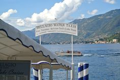 Watertaxi's in de haven van Bellagio. Taxi, Cruise, Tours, Water, Gripe Water, Cruises, Aqua