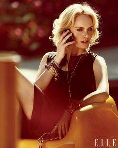 Amber Valletta Photo shoot