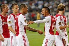   Ajax   De Jong   Moisander   V/D Wiel   Sana   Eriksen   Lukoki  