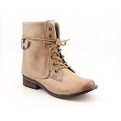 Mia Women's 'Ximena' Beige/Natural Ankle Boots