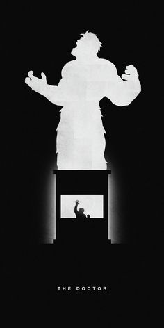 Illustrated Silhouettes of Superheroes That Highlight Their Past and Present, Volume Two