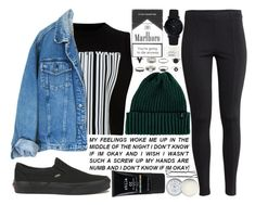 """""""in this universe"""" by velvet-ears ❤ liked on Polyvore featuring Alexander Wang, H&M, Vans, Larsson & Jennings, Brixton, Stila, Jack Wills and Chanel"""