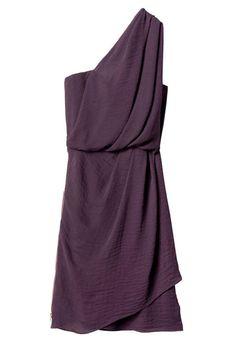 Rebecca Taylor Draped One Shoulder Dress, $345; rebeccataylor.com