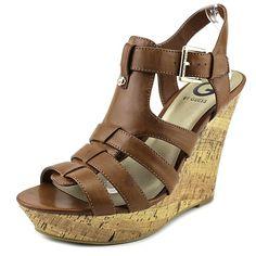 G By Guess Delfina Women Platform Wedge Sandals ** You can find more details here : Platform sandals