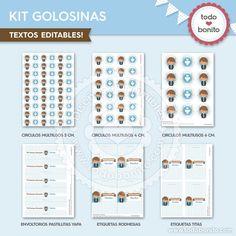 kit imprimible comunion niñ0 gratis - Buscar con Google