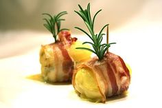 Apron and Sneakers - Cooking & Traveling in Italy and Beyond: Pancetta Wrapped Potatoes With Gorgonzola