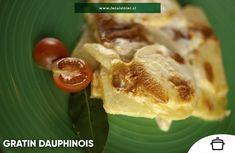 El sabor y la textura de las papas, cortadas en finas rodajas y cocidas lentamente, se mezclan en una reducción rica en crema y leche. Menu, Coco, French Toast, Mexican, Chicken, Breakfast, Ethnic Recipes, Dishes, Sour Cream