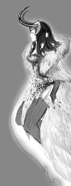 lady loki by calayrel