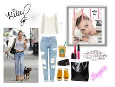 """""""miley cyrus inspired <3"""" by ajlao ❤ liked on Polyvore featuring Topshop, Rachel Comey, Raey, Cyrus and Hermès"""