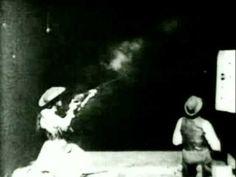 annie oakley shooting 1894 video by Thomas Edison :)