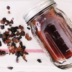 Cascara Simple Syrup — The Little Black Coffee Cup Coffee Van, Looks Yummy, Non Alcoholic, Fine Wine, Simple Syrup, Black Coffee, Coffee Recipes, High Tea, Coffee Drinks