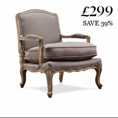 The Lille: French-style chair for only £299