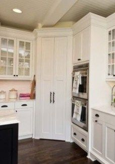 How You Can Attend U Shaped Kitchen Without Corner Cabinets With