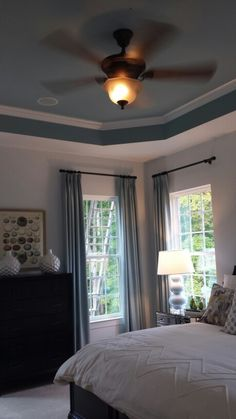 I just like this. The ceiling crown molding type border looks nice as well
