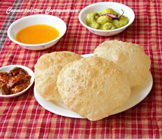 Poori/Puri/Luchi: Indian Puffed Bread