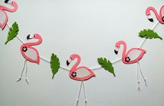 Flamingo party, Flamingo banner, Flamingo garland, Pink Flamingo, Flamingo baby shower, Flamingo wall art, Flamingo nursery, Flamingo decor by HeavenlyArrangement on Etsy https://www.etsy.com/listing/528779059/flamingo-party-flamingo-banner-flamingo