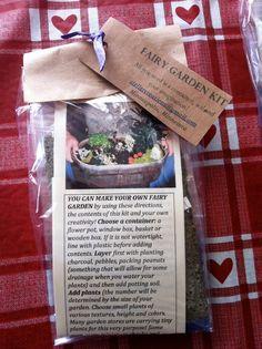 Fairy Garden Kit by StellerCreations on Etsy, $17.00