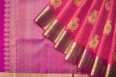 Saris / All Saris - Parisera Bridal Sari, Indian Bridal Sarees, Saree Wedding, Silk Cotton Sarees, Sari Silk, Pure Silk Sarees, Simple Sarees, Trendy Sarees, Kanjivaram Sarees