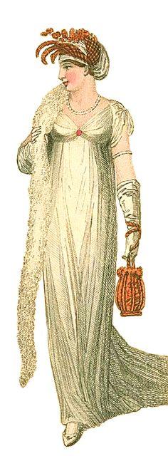 Evening Dress, February 1806.