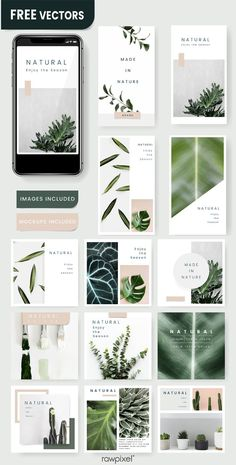 free social media templates and banners as well as vectors, PSD, mockups, and illustrations at Flugblatt Design, Crea Design, Layout Design, Design Ideas, Blog Design, Instagram Design, Instagram Mockup, Instagram Templates, Social Media Branding