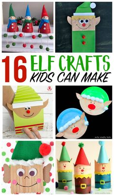 Create adorable Elf Crafts with the kids! Check out this list of 30 Elf Crafts Create adorable Elf Crafts with the kids! Check out this list of 30 Elf Crafts Christmas Party Games, Christmas Activities, Craft Activities, Kids Christmas, Christmas Crafts For Kindergarteners, Kindergarten Christmas, Christmas Decorations, Classroom Activities, Handmade Christmas