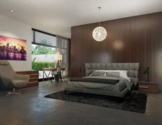 Gray Modern Bedroom / / Modani / Affordable Contemporary Furniture And Decor