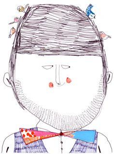 Fabulosas las Ilustraciones de Christine Roussey, espontáneas, frescas, sencillas y divertidas. Christine Rous...