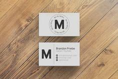 Minimal Business Card Template #businesscard #template