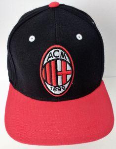 ACM 1899 Soccer Adidas World Football Challenge 2012 Hat  #adidas
