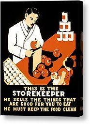 Food Administration Canvas Prints - W P A FOOD HYGIENE POSTER c. 1937 Canvas Print. Finaartamerica.com A Food, Healthy Living, Canvas Prints, History, Poster, Historia, Healthy Life, Healthy Lifestyle, History Books
