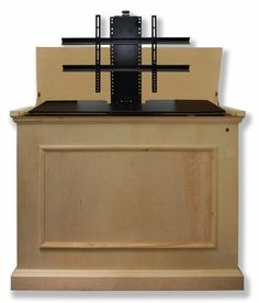 Great Elevate Unfinished Motorized TV Lift Cabinet