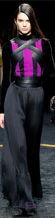 Paris Fashion Week.              Balmain.              Fall 2015.              Ready-To-Wear.