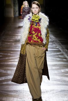 Dries Van Noten rtw fall 2015