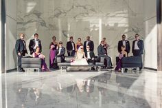 Cool bridal party pose. Hitched Studios » Blog